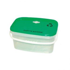 pojemnik na zużyte baterie